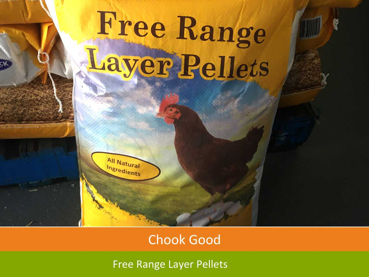 free range chicken pellets sunshine coast