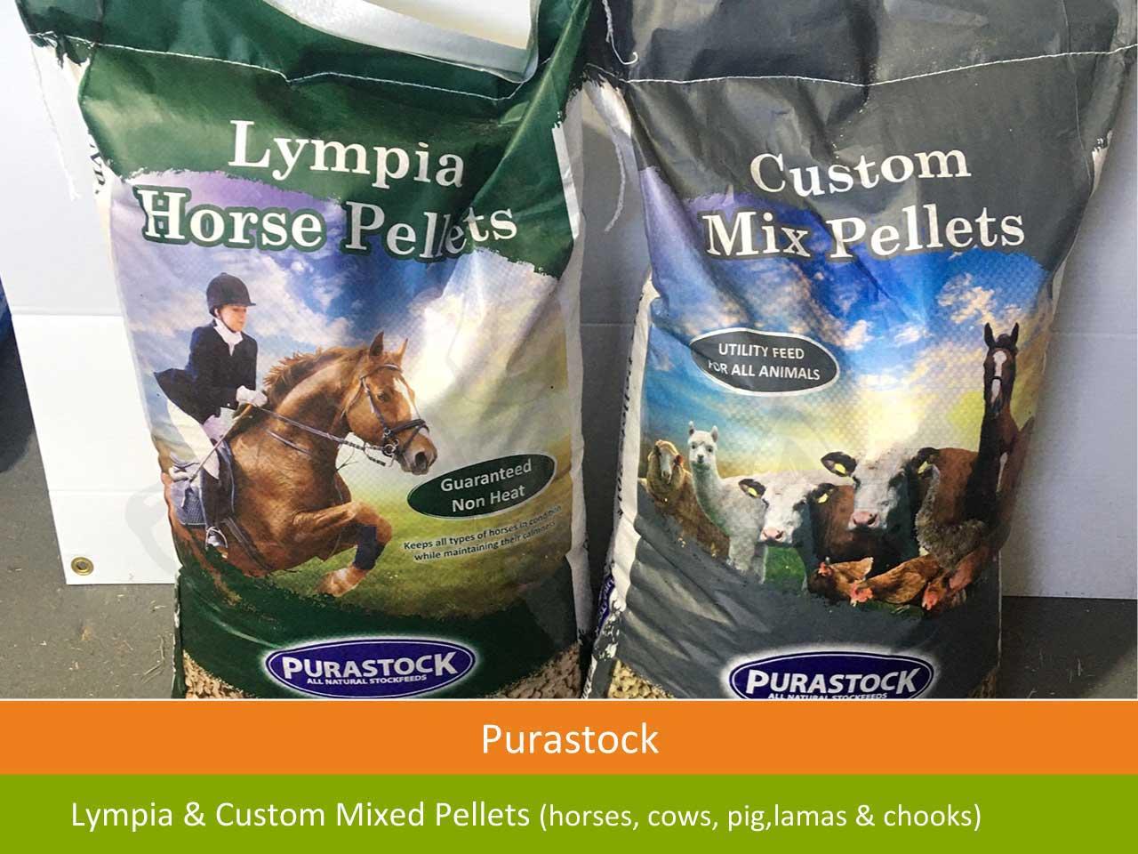 lympia pellets horse cow pig lama chook pellets